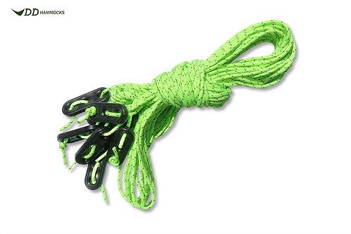DD SuperLight Guy Rope Bright Green (8 x 2m)