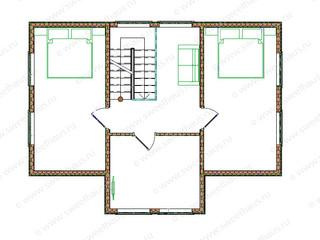 Дом с баней (2 этаж)