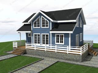 Проект дома по каркасной технологии
