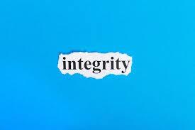 Integrity still matters