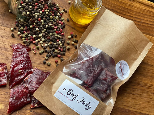Beef Jerky - Honey & Pepper