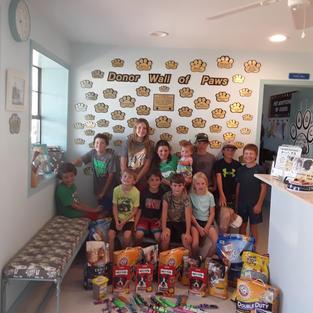Visit from Sunday School kids