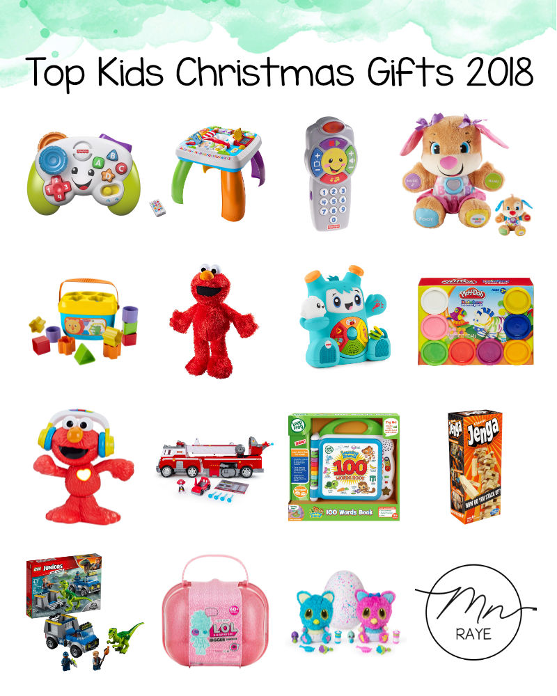 Top Kids Gifts for Christmas 2018