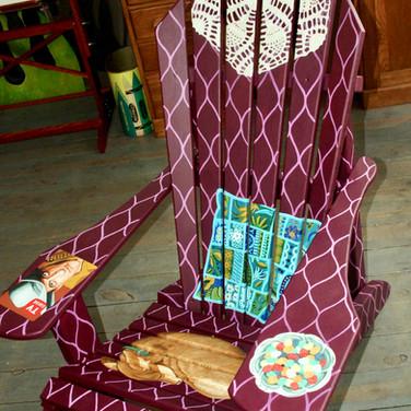 """Grandma's Living Room Chair"""