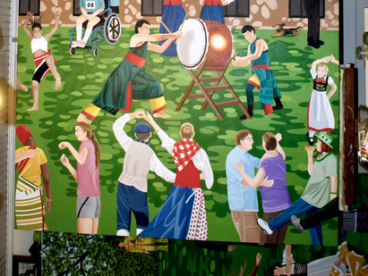 """Graceland"" (center panel)"