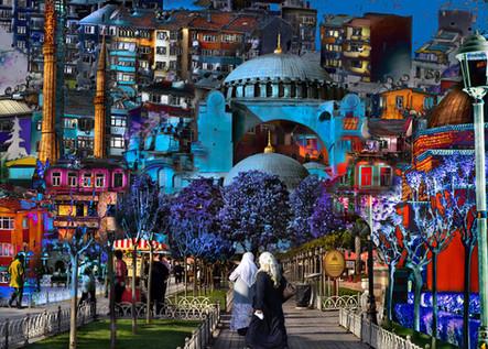 Istambul II -100 x 140 cm