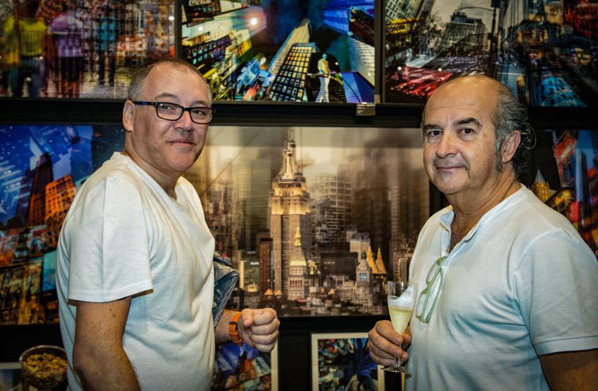 Marcello Barbusci e Miguel Costa Jr.
