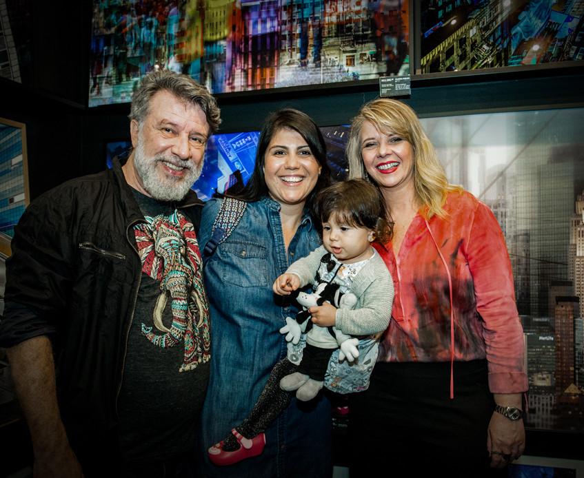 Carol Ulloa, Alceu Baptistão e Lydia