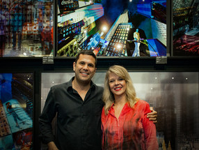 "Vernissage ""Metropolis"" de Claudia Furlani - Galeria Democrart"