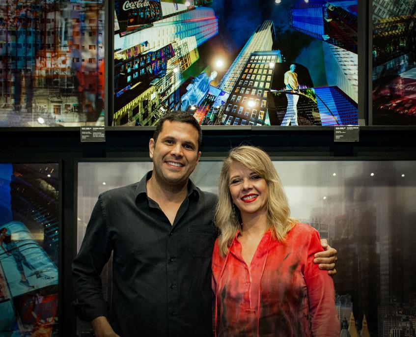 Bruno Rampazzo e Claudia Furlani