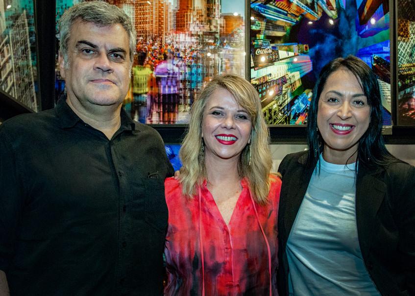 Guilherme Gouveia e Cintia Avila