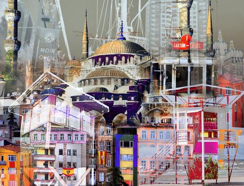Istambul I - 100 x 130 cm