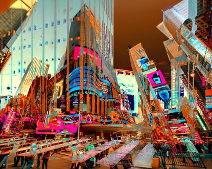 New York I - 100 x 126 cm