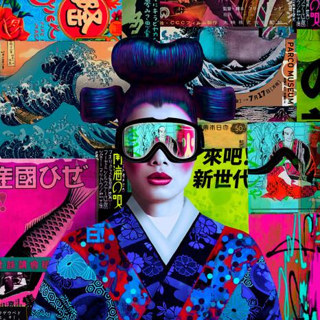 Macau II - 100 x 100 cm
