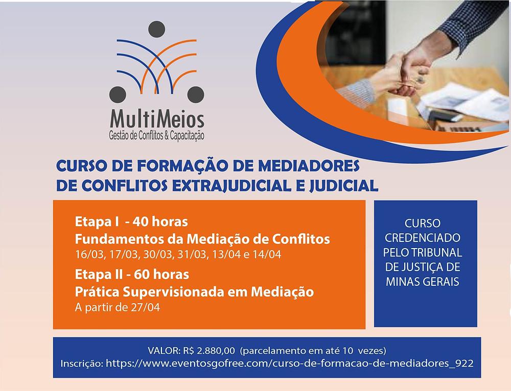 curso de formação de mediadores