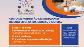 Inscrição aberta para nova turma de formação de mediadores de conflitos