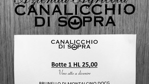 Brunello Canalicchio di Sopra Vigna Montosoli 2018
