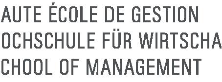 La Haute Ecole de gestion de Fribourg comme nouveau client.