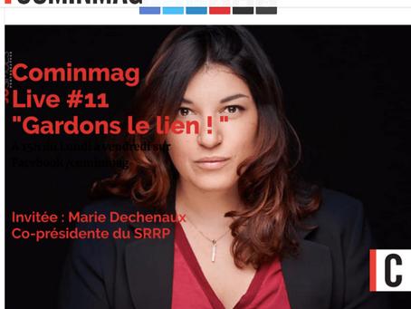Gestion de crise: Analyse de la crise du Covid pour Com'in Mag par Marie Deschenaux