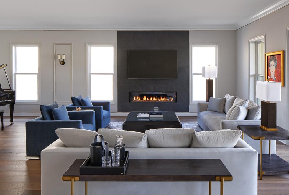 Open Floor Plan Transitional Modern Home