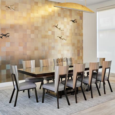 Modern Elegant Open Concept Dining Room
