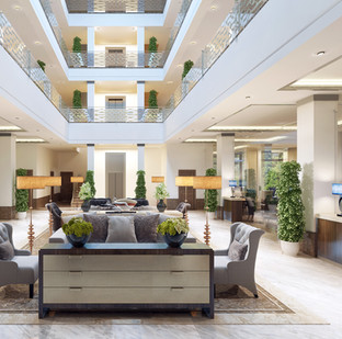 Contemporary High Ceiling Apartment