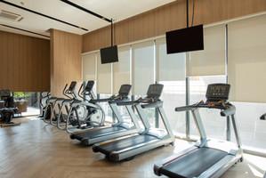Minimalist Gym Area