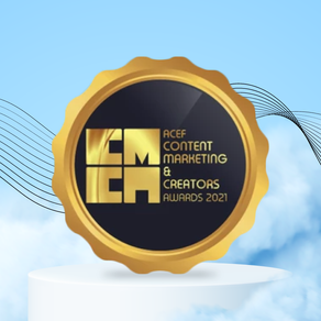 SPRD wins GOLD at the 2021 ACEF Content Marketing & Content Creators Awards!