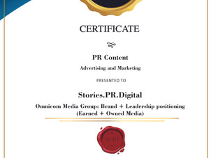 SPRD wins GOLD in the category of 'PR Content' at the 2021 ACEF Content Marketing & Content Creators