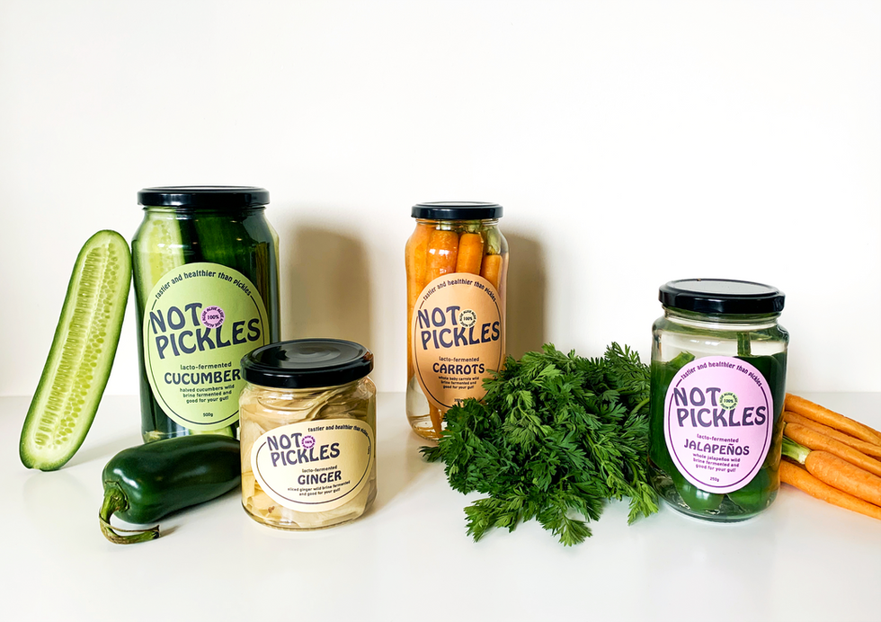 Not Pickles Packaging