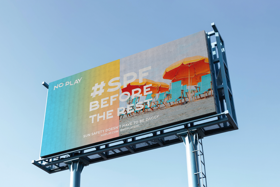 No Play Billboard