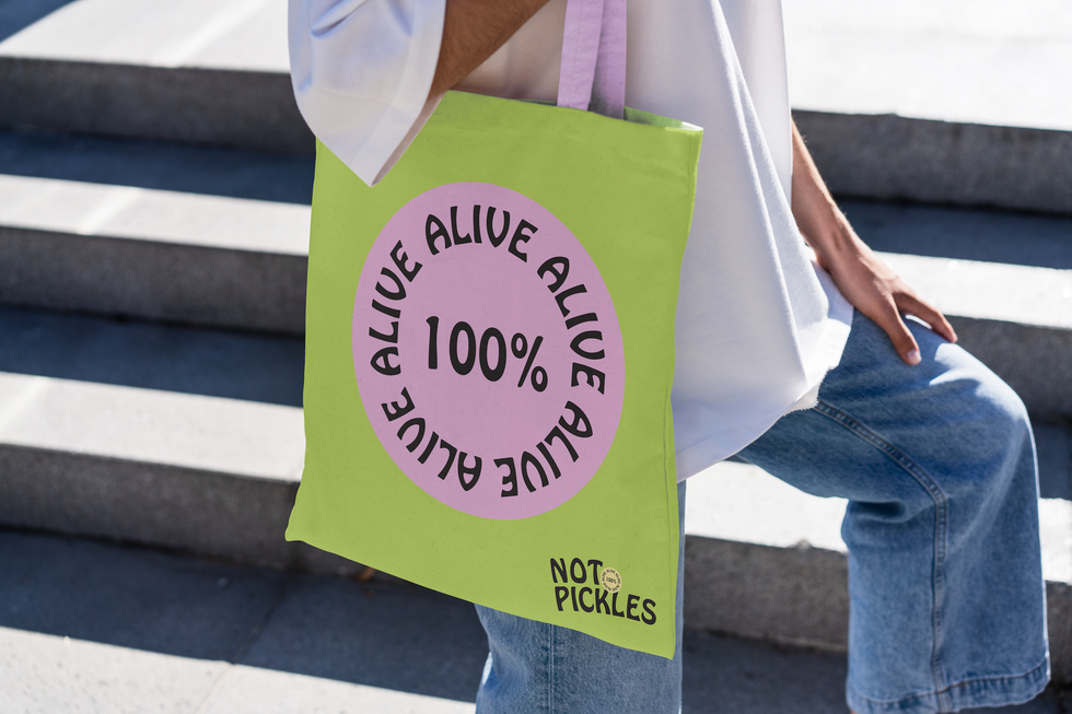 Not Pickles Tote