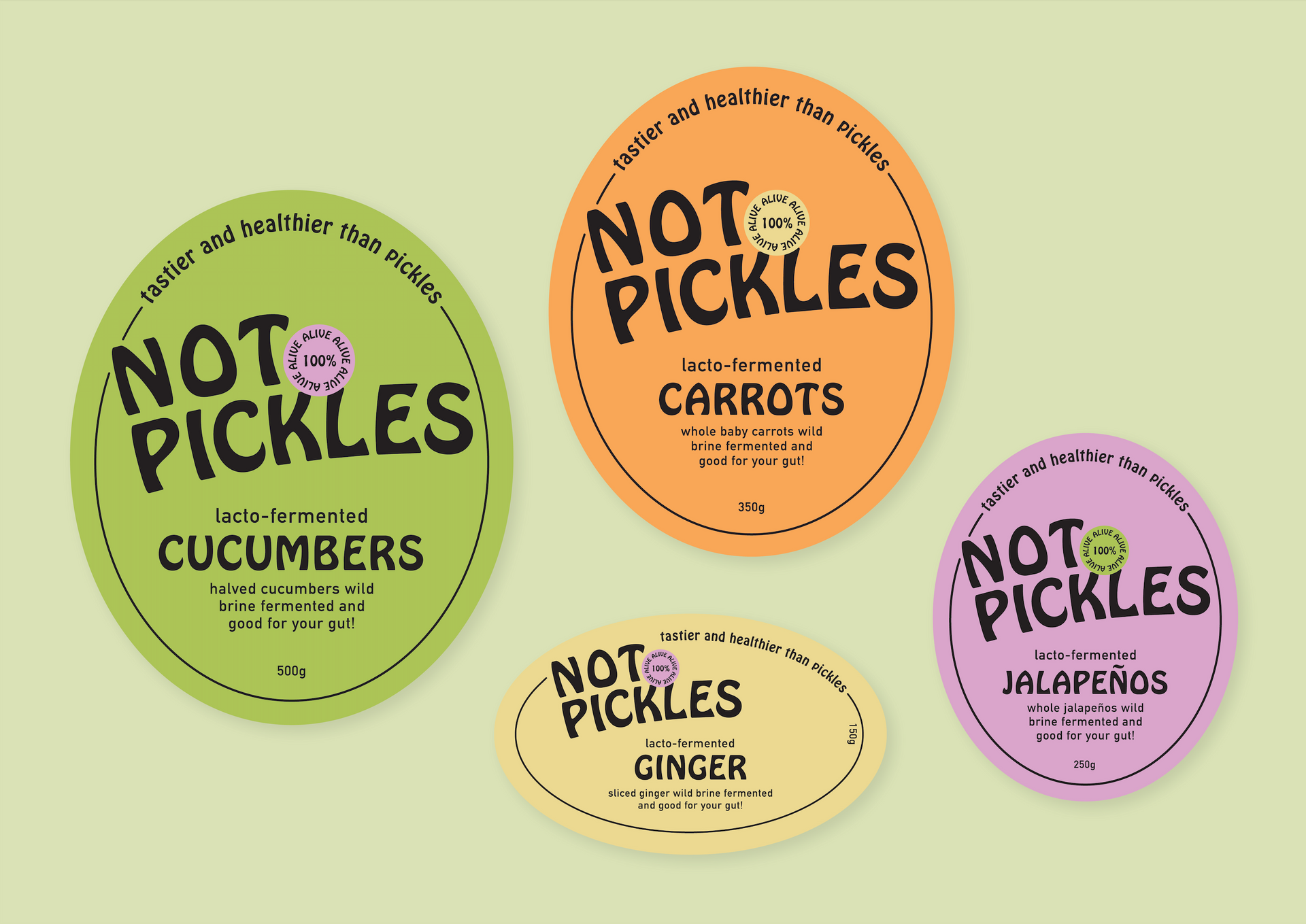 Not Pickles Labels