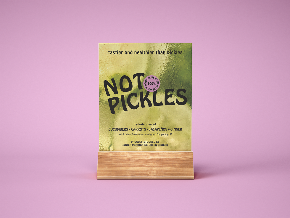 Not Pickles Point of Sale