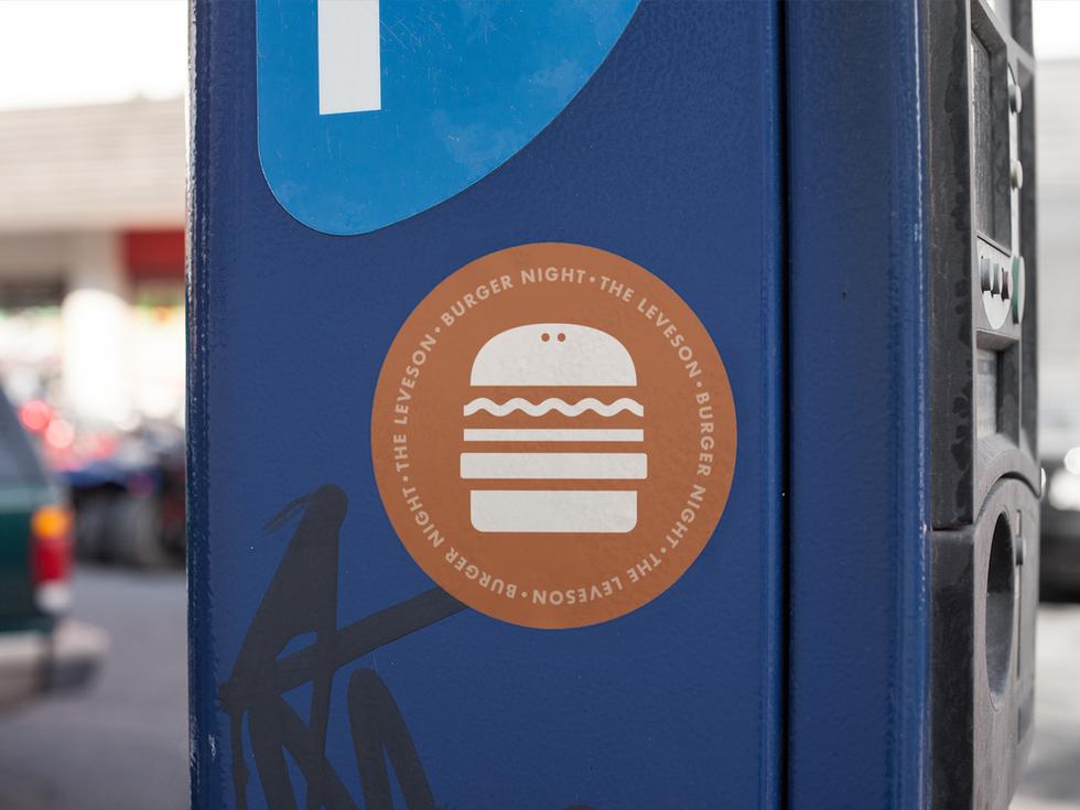 Leveson Pub Feed Sticker