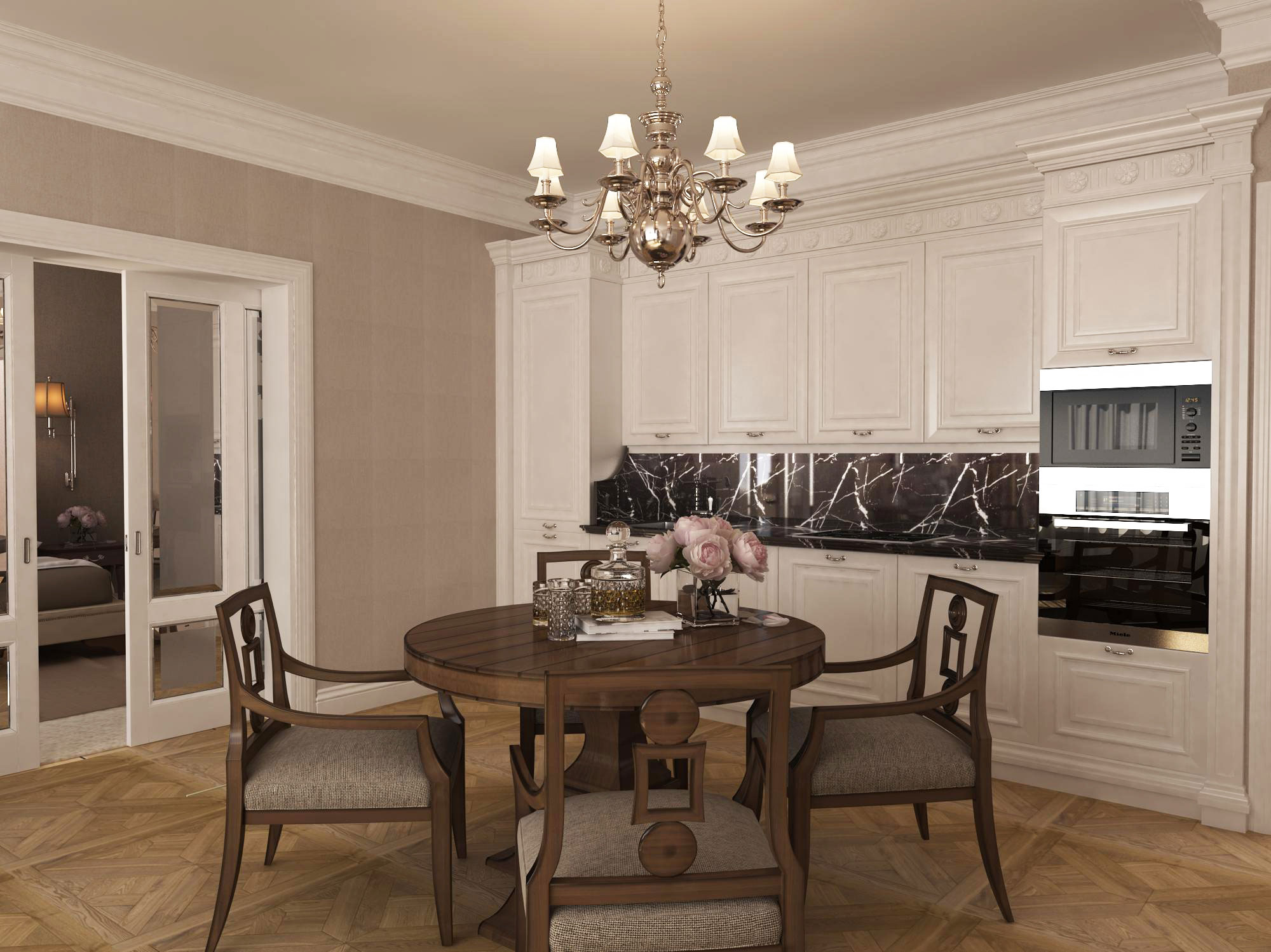 Дизайн-проект 3-х комнатной квартиры