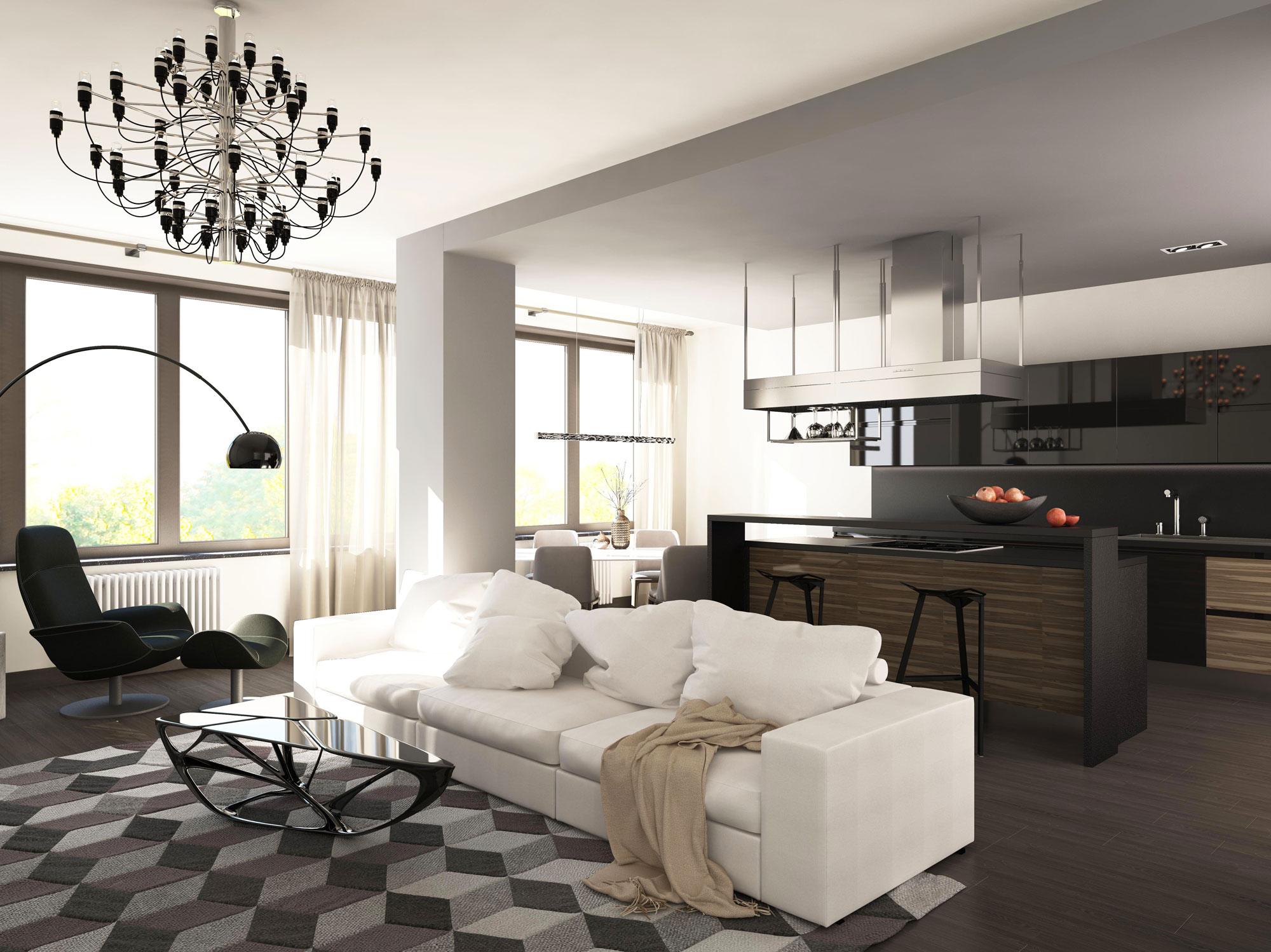 Дизайн-проект 4-х комнатной квартиры