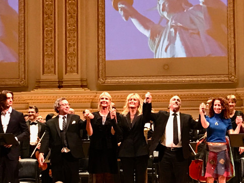 Carnegie Hall Debut October 7th, 2017