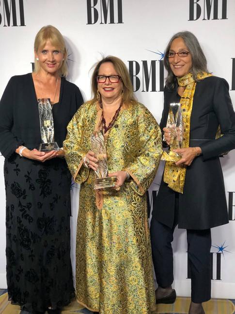 Lolita Ritmanis, Laura Karpman, Miriam Cutler Receive BMI Champion Award 2018