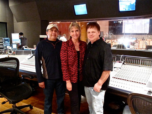 Bobby Fernandez, Lolita, Mark Mattson at Eastwood Scoring Stage