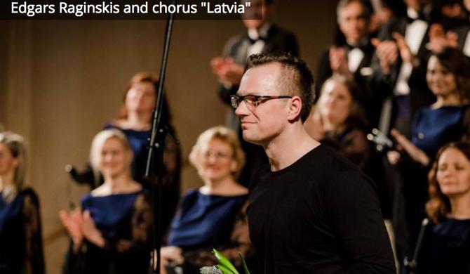 "Koris ""Latvija"" cikla ""Latvijas komponisti Latvijas simtgadei"" ceturtajā koncert"
