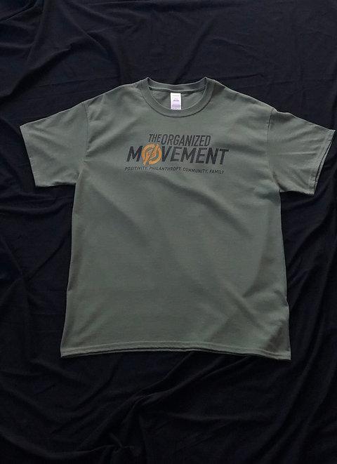 The Organized Movement Classic Shirt - Military Green