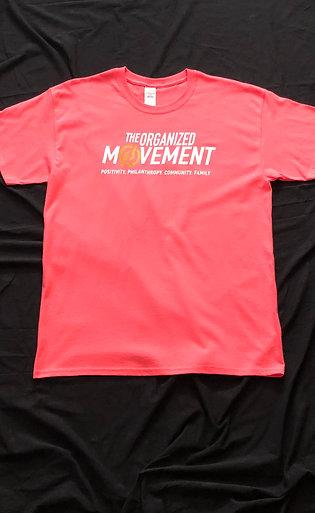 The Organized Movement Classic Shirt - Coral Silk
