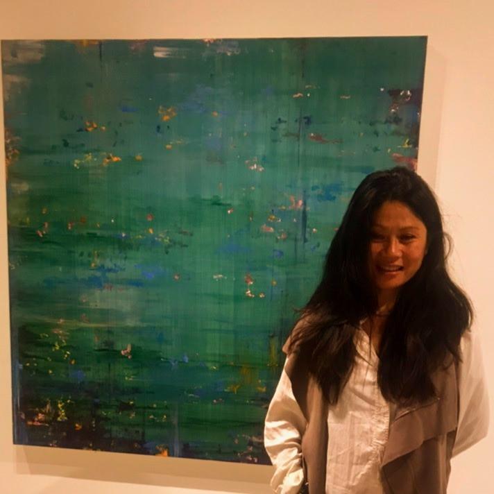 Creating Art  Within Nature . Guest Artist: Bernadette Phan