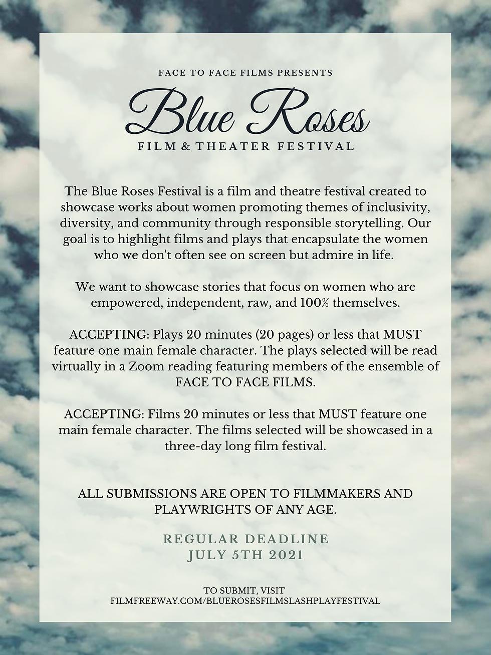 Copy of Copy of Copy of BLUE ROSES - SKY