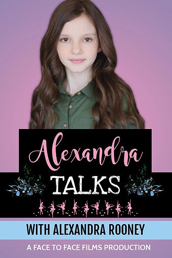 Alexandra Talks - Made with PosterMyWall