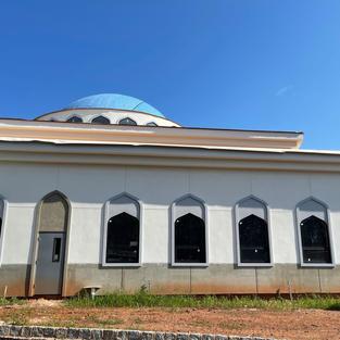 Masjid - outside side view