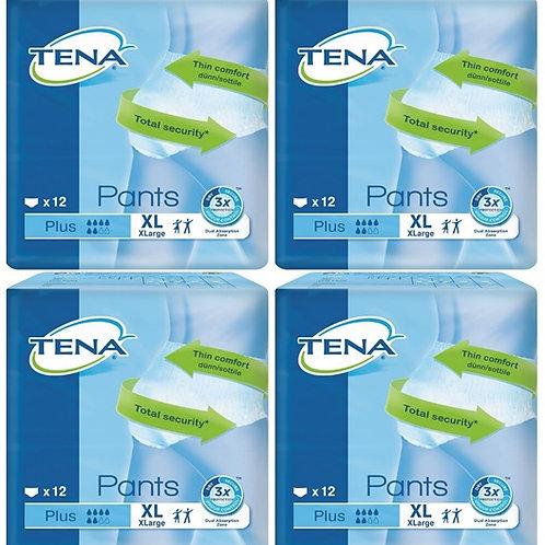 CARTON TENA PANTS PLUS XL 4X12