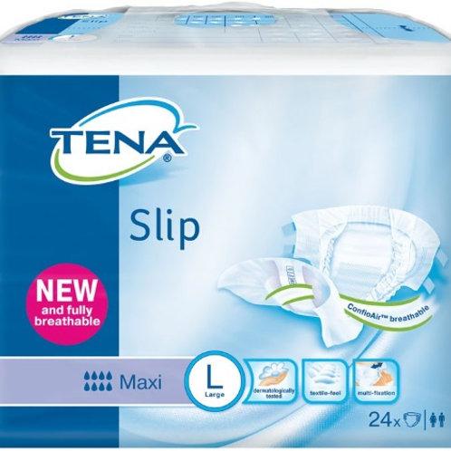 TENA SLIP MAXI LARGE SAC 24