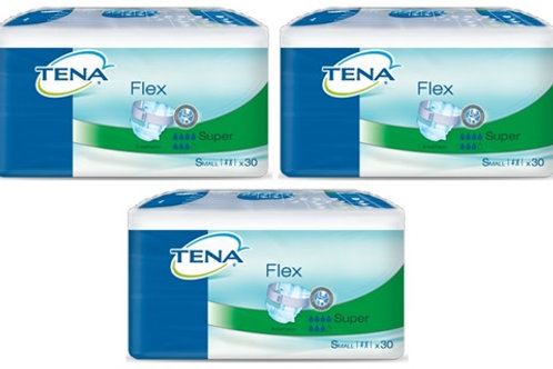 CARTON TENA FLEX SUPER MEDIUM 3X30